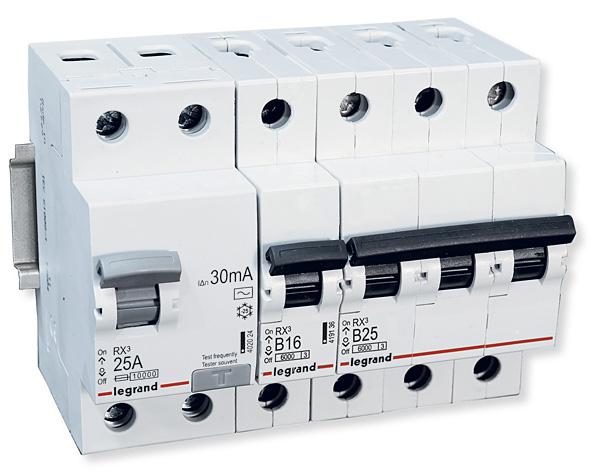Aparat RX3 z nowej linii wyłączników nadprądowych i różnicowoprądowych firmy Legrand