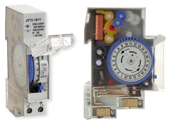 Rys. 6. Mechaniczny programator czasowy JVT2-161Y