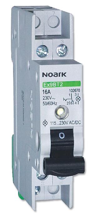 Rys. 1.  Modułowy  przełącznik  instalacyjny Ex9BT
