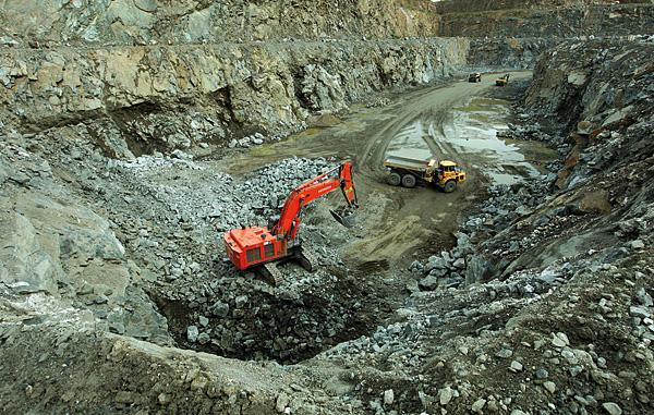 Kopalnia odkrywkowa Dolnośląskie Surowce Skalne w Piławie Górnej (fot. DSS)