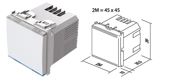 Rys. 1. Ściemniacz Touch – mechanizm