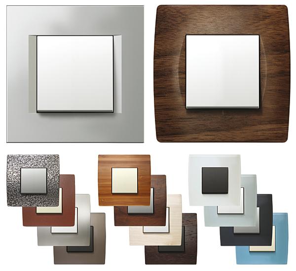 Rys. 2. Ściemniacz Touch w ramkach: a – Modul Line, b – Modul Soft, c – Modul Pure