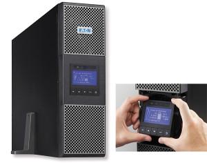 Rys. 2. Zasilacze UPS 9PX są dostępne w wersjach 5/6/8/11 kVA z wyświetlaczem LCD i funkcją pomiaru zużycia energii