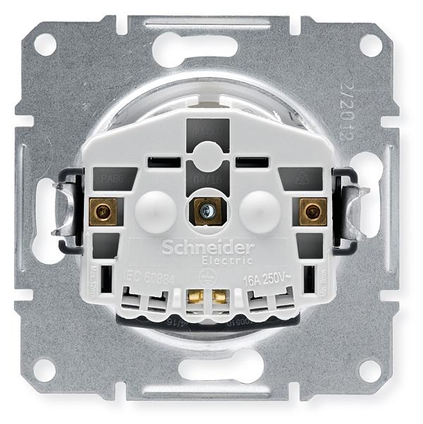 Wejścia kablowe wyprofilowane zostały w taki sposób, aby ułatwić umieszczenie przewodu w zacisku, oraz aby jego odsłonięta część znalazła się pod warstwą izolacyjną