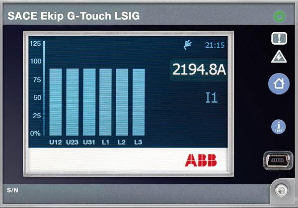 Rys. 5.  Zabezpieczenie  Ekip G-Touch LSIG