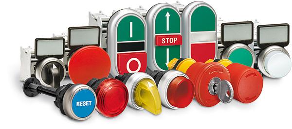 Nowa seria przycisków i przełączników Platinum firmy Lovato Electric