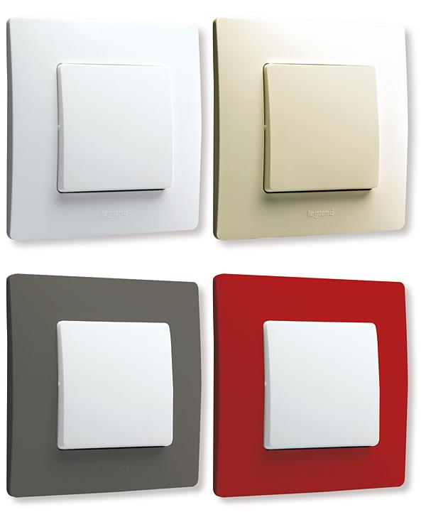 Rys. 4.  Funkcje Niloe  dostępne są  w wykończeniu białym,  kremowym, popielatym  i czerwonym