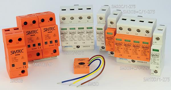 Seria warystorowych ograniczników przepięć Simtec firmy Simet