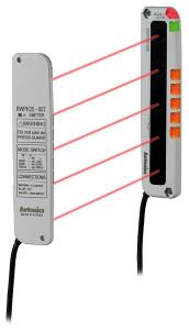 Rys. 5.  Zbliżeniowy czujnik obszaru BWPK25 firmy Autonics