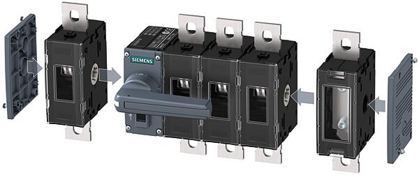 Elastyczna rozbudowa rozłącznika izolacyjnego 3KD