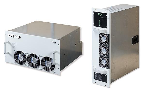 """Rys. 1. Dwa typy nowych jednostek mocy C&T Elmech: a – jednostka mocy do instalacji w systemie 19"""", o prądach nominalnych 100 i 200 A, b – jednostka mocy do pracy na SN i prądzie 100 A"""