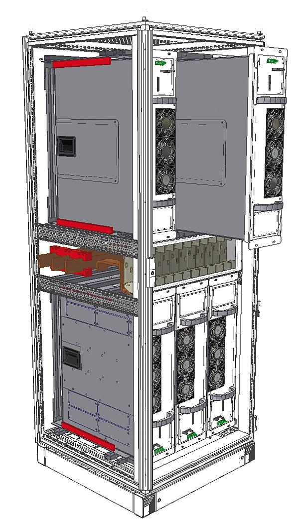 Rys. 2. Modułowa budowa urządzeń do poprawy jakości energii Xinus