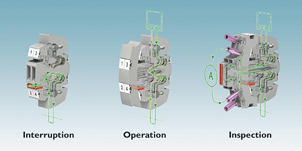 Rys. 3. Wtykowa listwa kontrolna systemu Fame 1 wymaga wtyku roboczego – przekładniki prądowe, napięciowe oraz sygnały sterujące są na różnych wtykowych listwach kontrolnych