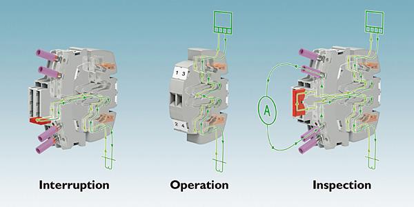 Rys. 4. W systemie Fame 2 przekładniki prądowe, napięciowe oraz sygnały sterujące są na jednej wtykowej listwie pomiarowej