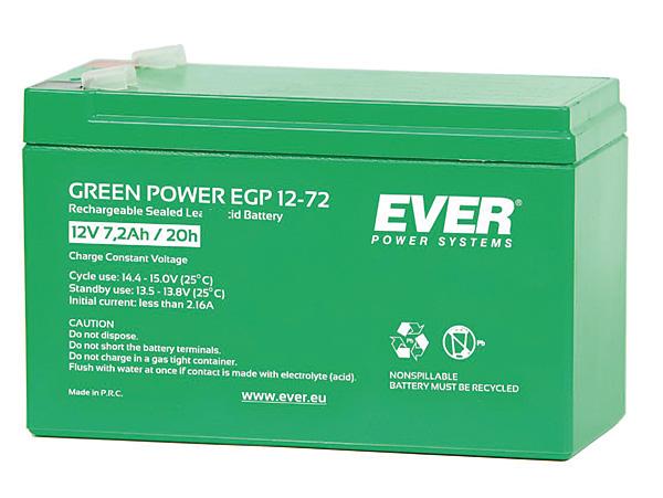 Rys. 2. Ever Green Power – bezobsługowy akumulator ołowiowo-kwasowy dla zasilaczy bezprzerwowych UPS, w technologii AGM (Absorbed Glass Mat)