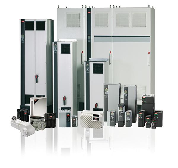 Gama urządzeń napędowych firmy Danfoss