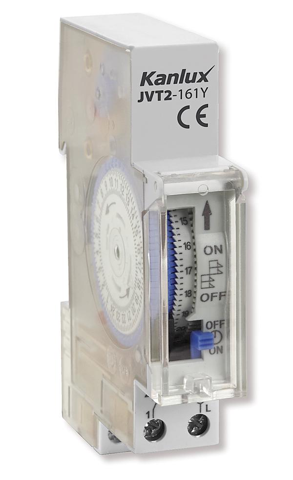 Rys. 3. Mechaniczny programator czasowy  JVT2-161Y