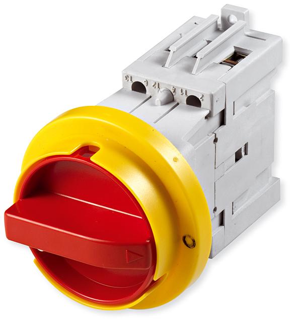 Rys. 2  Rozłącznik  izolacyjny  do montażu na drzwi rozdzielnicy LAS…D