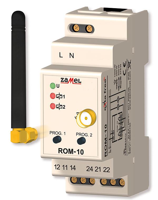 Rys. 1. Odbiornik radiowy ROM-10