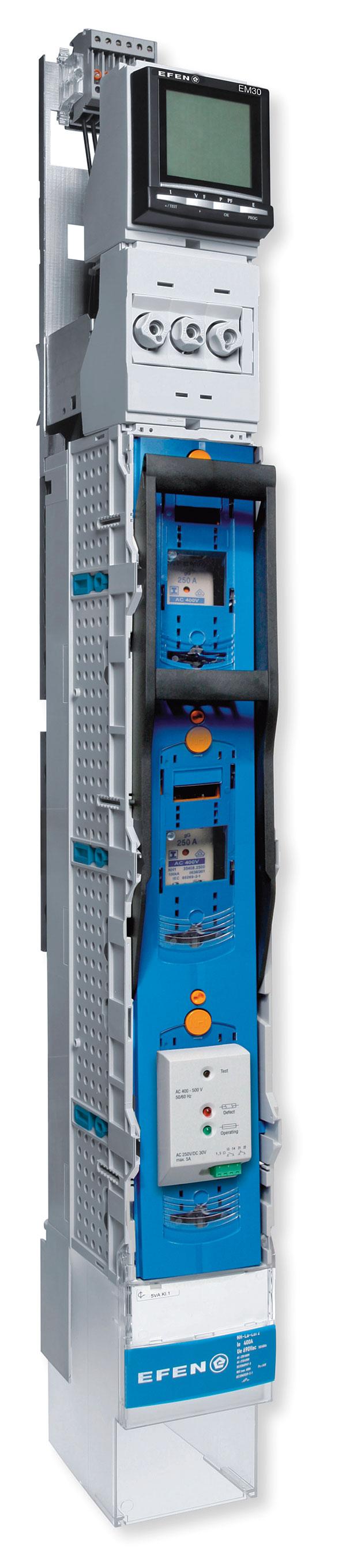 Rys. 2. Zespolenie rozłącznika NSL-E3 i urządzenia pomiarowego typu EM