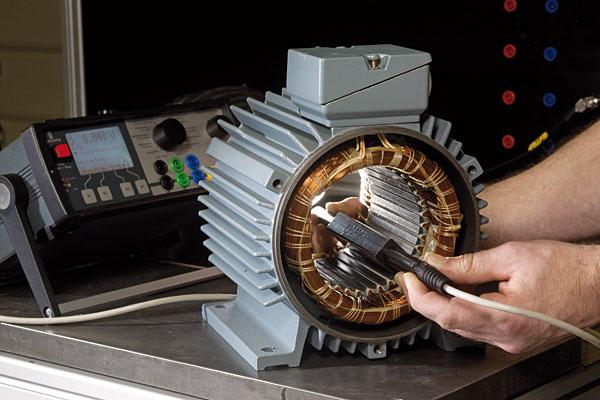 Urządzenia MTC2 pozwalają testować wyroby takie jak: uzwojenia silników, uzwojenia i klatki wirników, generatory, silniki trakcyjne czy prądnice prądu stałego
