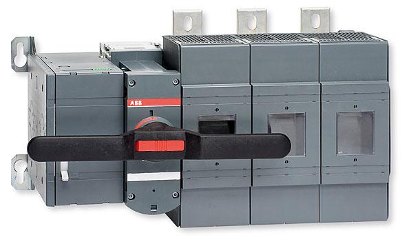Rozłącznik z bezpiecznikami z napędem silnikowym typu OSM1250D3M230C