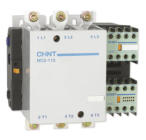 Zakres prądów znamionowych styczników NC2 mieści się w granicach 115 – 800 A