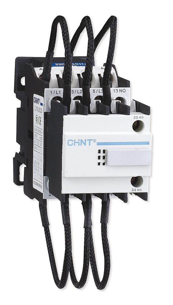 Styczniki serii CJ19  są przeznaczone  do baterii kondensatorów