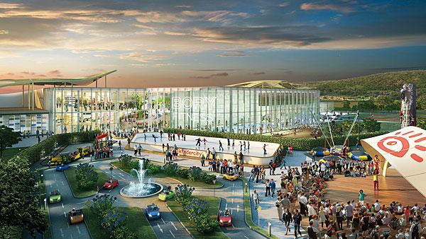 Rys. 1. Centrum handlowe Bory, zaprojektowane przez architekta Massimiliano Fuksasa
